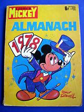 Journal de MICKEY Almanach 1978