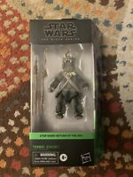 Teebo the Ewok Star Wars Black Series 6-Inch Action Figure New In hand