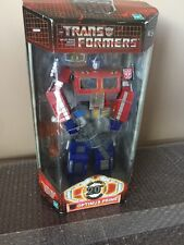Transformer 20th Anniversary Optimus Prime Gray Gun 2003 Action Figure MISB