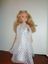 "BEAUTIFUL WHITE SPARKLE DRESS OUTFIT FOR 18"" BFC INK DOLLS"