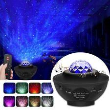 LED Projektor Sternenhimmel Lampe Nachtlicht RGBW Bluetooth Musik Fernbedienung