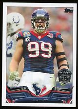 2013 TOPPS PLAYER OF THE YEAR #99 J. J. WATT - HOUSTON TEXANS - FREE SHIPPING