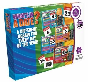 What's In A Date? 6th August 400 Piece Jigsaw Puzzle 470mm x 320mm (hpy)