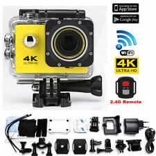 Sports Action Camera 4K Waterproof Wifi Video Recorder DVR HD 1080P Gopro Remote