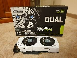 Asus Dual Geforce GTX 1070 8GB OC Graphics Card - Excellent Condition