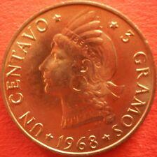 DOMINICAN REPUBLIC 1 CENTAVO 1968 Dominicana Dominikanische Dominicaine Dom Rep