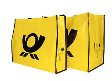 R-PET Post Bag Deutsche Post recycelt Henkel Tasche  42 x 36 x 27 cm NEU groß