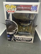 Funko - POP Movies: Power Rangers - Black Ranger #396 Vinyl Action Figure New