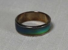 Solid Band Color Change Copper Tone Mood Ring, Size 7.5