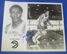 "JACK ""GOOSE"" GIVENS autograph signed 8x10 photo Team Issue Atlanta Hawks 1979-80"