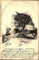 Frankenberg Sachsen 1903 Rittergut Neubau Litho-AK n/ Siegmar Ankunftsstempel