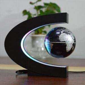 Table Lamp Magnetic Levitation Floating Earth Decoration Light Office Bed Room