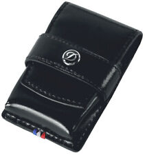 Dupont Ligne 2, Slim 7, MaxIjet, Initial, Ligne 8 and Gatsby Black Leather Case