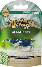 Dennerle Shrimp King Algae Pops Shrimp Snowflake Food with Chlorella Algae NEW