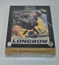 AH-64D Longbow: Limited Edition CD-ROM PC, 1997 NEW & Sealed
