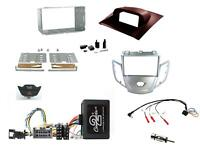 Kit Complet 2 din Ford Fiesta MK6 2008-2010 Argent R Commandes Volant & 4