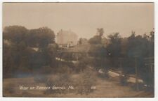 TURNER CENTER MAINE RPPC Real Photo Postcard BELFAST Androscoggin County ME