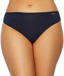Calvin Klein Women's Plus Size Form Bikini Blue Shoreline 3X NWOT