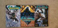Batgirl COMPLETE Vols 1 (OOP) 2 3 TPB GN lot set series Cassandra Cain DC Comics