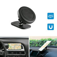 1 Set 360° Magnetic Car Mount Holder Stand Stick On Dashboard For Cell Phone Top