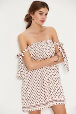 Tularosa Polka Dot Scarf Party Dress £134.00 SIZE XS (C4)
