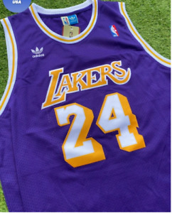 Kobe Bryant Jersey 3XL XXXL!! Purple 24 Yes TRUE 3xl!! ‎️‍🔥