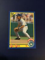 1990 Score #608 BILLY BATES Rookie RC Milwaukee Brewers