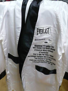 Muhammad Ali Limited Edition Autographed Robe & Shorts w/Steiner & Online Certs