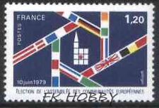 France 1979 Mi 2154 ** Flagi