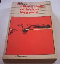 IL LIBRO DELLA ATLETICA LEGGERA garzanti manuale sport coni 1974 1°ed