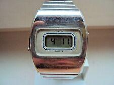 Vintage men's digital watch MATY Besancon Swiss Made