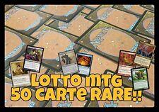 MTG - Lotto 50 Carte RARE - Ideali per Collezioni e Mazzi - LEGGI