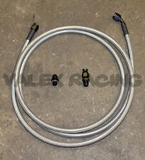 96-00 Civic 4dr Sedan Replacement Stainless Steel Fuel Feed Line Tank to Filter