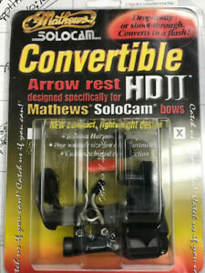 NEW MATHEWS CONVERTIBLE HDII RIGHT HAND DROP AWAY or SHOOT THRU BOW ARROW REST