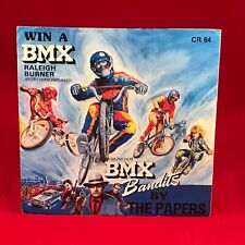 "THE PAPERS BMX BANDITS UK 7"" Vinyl Single 1984 BOYS PETRA GAFFNEY MOVIE film"