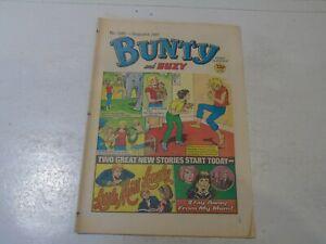 BUNTY & SUZY Comic - No 1543 - Date 08/08/1987 - UK Paper Comic