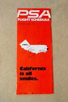 PSA Timetable - June 1, 1976