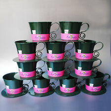 Lot of 12 Alice In Wonderland Mad Hatter Tea Cups-Disney Parks Genuine-T Party