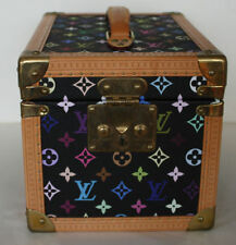 Louis Vuitton Leather Luggage with Secure (Lock Included)