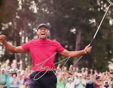 Tiger Woods Signed 8x10 Photo Print Autograph PGA Golf Celebration REPRINT