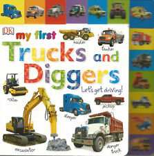 My First Trucks and Diggers Let's Get Driving / Englische Kinderbücher / Mitmach