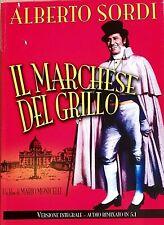 ALBERTO SORDI - IL MARCHESE DEL GRILLO (1981) di Mario Monicelli  DVD SLIP CASE