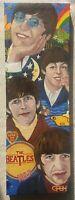 Carl F E Hodgson The Beatles Fab 4 brilliant original signed large oil painting