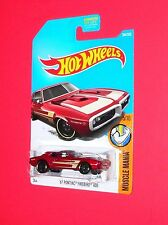2017 Hot Wheels '67 PONTIAC FIREBIRD 400 #284 Muscle Mania  DTY88-D9B0M M case