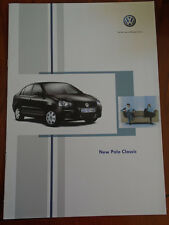 VW Polo Classic range brochure Jul 2005 South African market