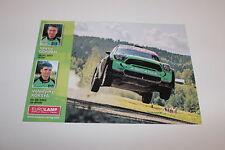 CP POSTCARD CARTOLINA MINI COOPER WRC GORBAN RALLY RALLYE WRC 2014