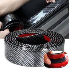 2.5M Carbon Fiber Front Bumper Lip Splitter Chin Spoiler Body Kit Trim Protector