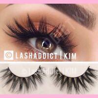 Mink Lashes Eyelashes 3 Pairs Wispy Eyelash Extension   Makeup Fur USA SELLER