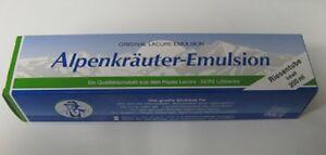 6x 200 ML Alpenkräuter Emulsion Crème Pommade Baume Homéopathie Base