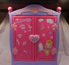 Build A Bear Beararmoire Fashion Case Closet Wardrobe Case Armoire Pink Purple